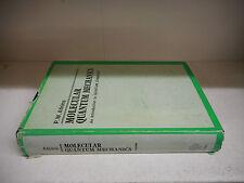 MOLECULAR QUANTUM MECHANICS-ATKINS-OXFORD-I ED 1970-INGLESE-CARTONATO----SL-C21