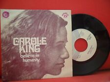 CAROLE KING Believe In Humanity 7/45 NEAR MINT RARE 73' PORTUGAL UNIQUE SLEEVE
