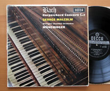 SXL 6101 ED1 Bach Harpsichord Concerti 1 & 2 Malcolm Munchinger Decca WBG ED1