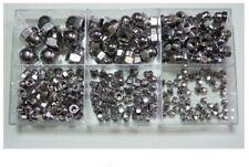 Sortiment-Hutmuttern DIN 1587 M3 - M10 Edelstahl A2 228 Teile * Profi Qualität *