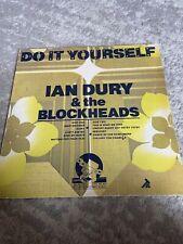 "IAN DURY & THE BLOCKHEADS DO IT YOURSELF 12"" VINYL RECORD LP"