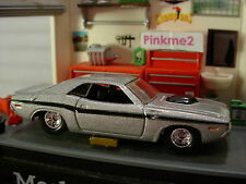 Hot Wheels Real Rider '70 Dodge Hemi Challenger ∞ Argento ∞ Edizione Limitata ∞