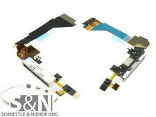 iPhone 4 Docking Anschluss Buchse Connector Konnektor Mikrofon Pins weiß