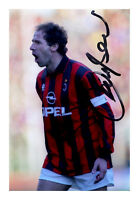 Franco Baresi Hand Signed 6x4 Photo Genuine Autograph AC Milan Memorabilia + COA
