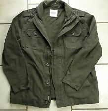 NWT Old Navy Black Field Jacket XL Military Style Lined Warm