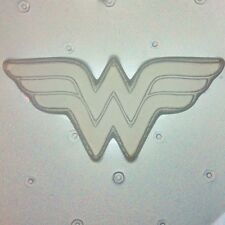 Flexible Resin Mold Wonder Woman Logo Mould Resin Craft Supplies