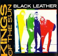 """KINGS OF THE SUN black leather PT 49536 uk rca 1988 12"""" PS EX+/EX"""
