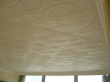 Tin-Look Faux Ceiling Tiles  Easy Installation -  R23W