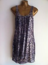 MISS SELFRIDGE Sequinned Sequin Dress Size 12 Party Going Out WORN ONCE