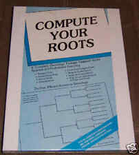 Compute Your Roots Atari 800/XL/XE Disk New
