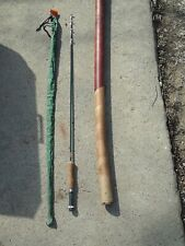 Bristol Hexagon Metal Rod Telescoping Fishing Model 3 with cloth cover