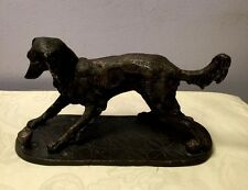 Golden Retriever Bronze Statue Hunting Gun Dog Lover Sculpture Figurine Art