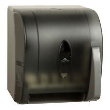 GEORGIA-PACIFIC 54338GP Translucent Smoke Push Paddle Roll Paper Dispenser