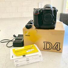 Nikon D4 16.2MP Digital SLR Camera (Body Only) - (172590)