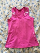 Head Fitness Racerback Pink Top Size 10 Nwot