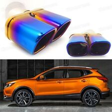 Double Outlets Exhaust Muffler Tip Tailpipe for Nissan Rogue Sport 2017-Up #1067