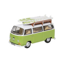 Oxford oxf76vw02 VW T2 Bay ventana Camper con tabla de Surf Verde / blanco