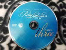 Pretty Little Liars Season 5 Disc 3 DVD DISK ONLY