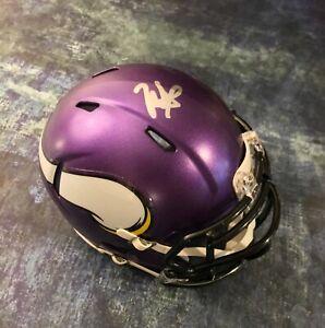 GFA Minnesota Vikings RC Quarterback KELLEN MOND Signed Mini Helmet K2 COA