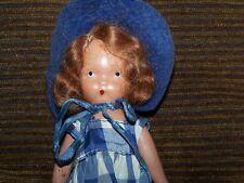 """Vintage Nancy Ann Storybook 5.5"""" Bisque Doll Marked Frozen Leg Collectibles"""
