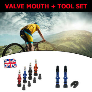 1Pair Tubeless Presta Valve Mouth Tools For MTB Mountain Road Bike Bicycle 48mm
