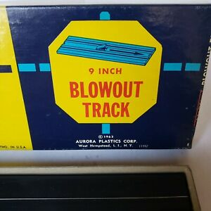 Aurora - AFX Vintage Blowout Track in Original Box NOS (Original Owner)