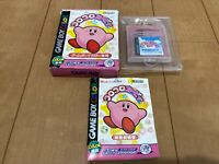 GameBoy Color Kirby Tilt'n Tumble nintendo with BOX and Manual