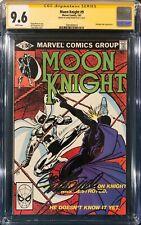 MOON KNIGHT #9 CGC 9.6 SS DOUG MOENCH SIGNED Comic Book Disney plus +