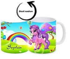 Kinderbecher - bruchfest mit Namen - Kindertasse Kunststoffbecher Tasse Pferd