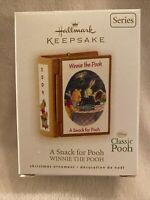 "Hallmark Keepsake Disney Winnie The Pooh- ""A Snack for Pooh"" Book Ornament"