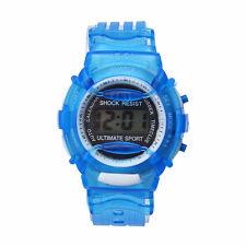 Kids Student Time Digital Watch LCD Display Unisex Sports Wrist Watch Relojes