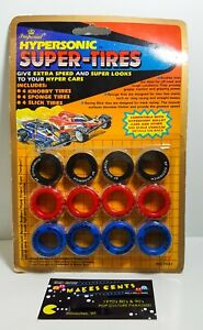 Hypersonic Super Tires Hyper Cars NEW Sealed Vintage 1989 Imperial Toy NO.7641