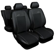 VW Golf 7 VII BJ 2012-  Maß Sitzbezüge Schonbezüge Kunstleder schwarz