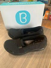 NEW Women's Bzees Nugget Tonal Floral Comfort Loafer Slip On Black Pick Size