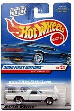 2000 Hot Wheels #68 First Edition 1968 Chevy El Camino 0910 G1 crd