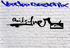 Insignia con logotipo de Quicksilver Gráficos Pegatinas Calcomanías Surf Bodyboard VW T6 T5 T4
