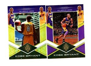 2019-20 Prizm (Kobe Bryant Redemption set KOBE #6/10 and # 12/20