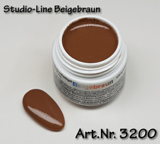 5 ml  Studio-Line UV Farbgel, Pure Color, Farbe: Beigebraun, Nr. 3200