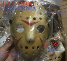 KIDS SIZE HALLOWEEN HOCKEY MASK- KIDS SIZE VOORHEES JASON STYLE FRIDAY THE 13TH