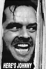 Stephen King The Shining Movie Jack Nicholson Heres Johnny Photo Magnet 2x3