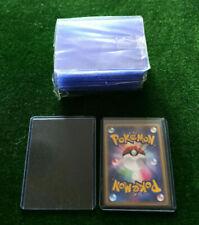 "3"" x 4"" Regular Top Loaders Hard Card Sleeves - Pokemon / MtG / Yugioh etc."