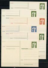 P101-p106 federal toda Heinemann cosas tarjetas 6 sin usar!!! (137553)