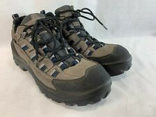 LL Bean Cresta Hiking Boots Shoes Sneakers Womens 9.5 Gore-Tex Gray Blue Italy