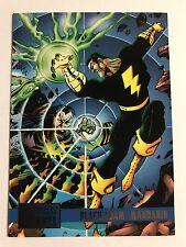 1995 DC Versus Marvel Skybox Trading Cards #86 Black Adam/Manadrin