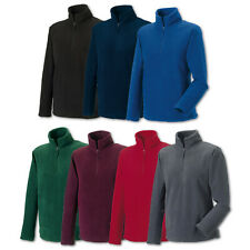 Russell Fleece Outdoor Fleecepullover 1/4-Zip Reißverschluss Sweatshirt  Fitness