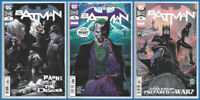 BATMAN #92 93 94 SET Punchline Joker Harley Quinn War DC 2020 NM- NM