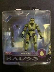 NEW McFarlane Toys Halo 3 Series 2 Olive Spartan Solider EOD Armor Action Figure