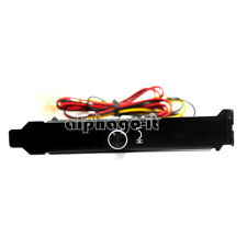 3 Channels PC Cooler Cooling Fan Speed Controller for CPU Case HDD DDR VGA