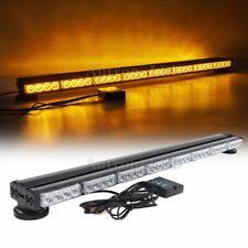 "35"" 64W Amber LED Warning Emergency Beacon Response Double Side Strobe Light Bar"