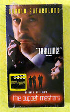 The Puppet Masters ~ New VHS Movie ~ Donald Sutherland ~ Rare Sealed Video